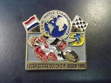 Pin Lucky Strike Dutch Grand Prix Assen 1996 type 2