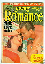 Young Romance #48 G/Vg August 1952