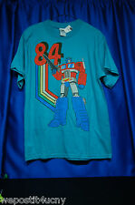 Transformer T Shirt Mens Small T Shirt Transformers 84 T Shirt Size 34 / 36 1984