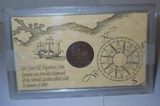 "EAST INDIA COMPANY 1809 COIN  ""ADMIRAL GARDNER' SHIPWRECK COIN IN CASE, NICE!"