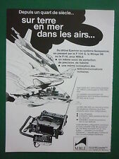 7/1984 PUB MBLE PHILIPS EMETTEUR RT 600 PRC/VRC-600 ARMEE BELGE DRONE FRENCH AD
