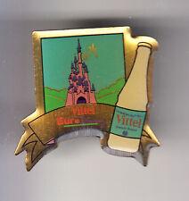 RARE PINS PIN'S .. DISNEY PARIS OPENING 1992 OUVERTURE EAU VITTEL CHATEAU ~14