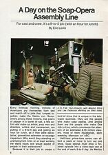 1973 Tv Ad~ONE LIFE TO LIVE~SOAP OPERA~MARILYN CHRIS~LEE PATTERSON~4 Pages