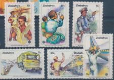 Zimbabwe - 1983 - Sc 464 - 69 - World Communications year VF MNH