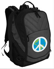 COOL World PEACE Backpack PEACE SIGN Laptop COMPUTER BAG - PADDED SECTION!