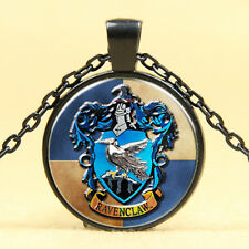 Pendant Necklace, Harry Potter /155 Wholesale Cabochon Glass Black Chain