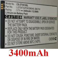 Battery 3400mAh type Li3734T42P3hC86049 SBC791 For ZTE V9A