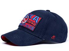 HC CSKA Moscow KHL Hat Cap w Patch. Russian hockey, dark blue