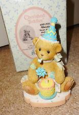 Cherished Teddies Mikeala Happy Birthday Bear Abbey Press Exclusive #4001551