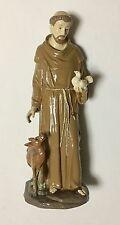 "Statue 12"" St Saint Francis of Assisi Estatua San Francisco de Asis Isis 1"
