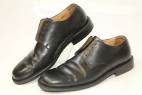 Bally Andric Mens 7 D Black Smooth Leather Oxfords Shoes MADE IN SWITZERLAND