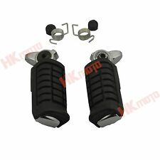 New Front Rider Foot Pegs Footrest For Honda Rebel 250 CMX250 1985-2012