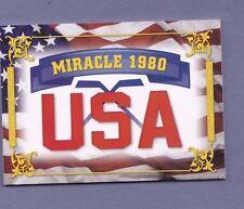 2012 leaf 1980 U.S. miracle HOCKEY booklet 16 auto olympic signed on ICE