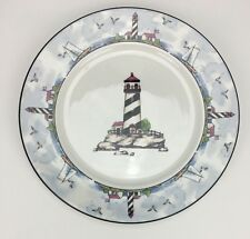 Totally Today Coastal Lighthouse Dinnerware - Replacement Dinner Plate Only