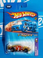 Hot Wheels 2005 First Editions X-Raycers #56 Stockar Clear Yellow w/ 5SPs