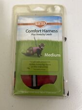 Kaytee Super Pet Red Comfort Harness W/Stretchy Stroller Medium New