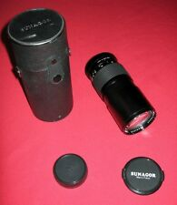 Manual Focus Pentax Camera Lenses 200mm Focal