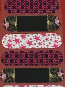 Jamberry Half Sheet - Pink Monster Trucks Mixed Mani NAS