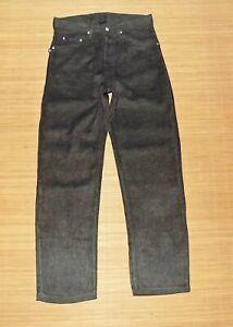 pantalon droit GIVENCHY homme en viscose et polyester anthracite taille 40