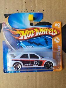 Hot Wheels 2007 - SUBARU WRX [WHITE] VHTF NEAR MINT CARD GOOD COMBINED POST