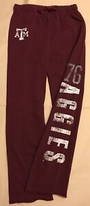 NWOT Texas A&M Aggies College Warm-up Pants Colosseum -Orig $34.99-  M-see measu