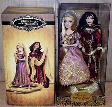 Disney Store Rapunzel and Mother Gothel Disney Fairytale Designer Doll NEW NIB