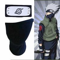 Headband Cosplay Leaf Village Black Kakashi Mask Toy for Black Naruto Anime