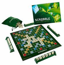 Original Scrabble Crossword Family Board Game Authentic by Mattel 2012 Y9592