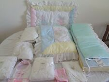 12 pc Beatrix Potter Peter Rabbit Crib Bedding Set with extras MADE in USA