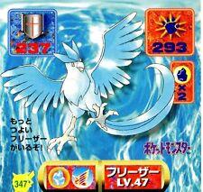 POKEMON STICKER Carte JAPANESE 50X50 1997 NORM@L N° 347 ARTIKODIN ARTICUNO