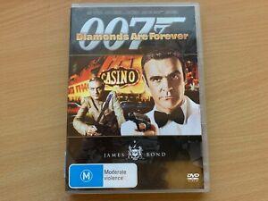 Diamonds Are Forever Sean Connery Jill St John Lana Wood (DVD, 2007) R4 GC