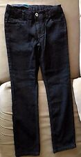 NEW Girls 8 FADED GLORY Regular Skinny Jean Black Wash Adj Waist NWT