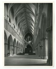 Wells Cathedral - Vintage Publication Photograph - England