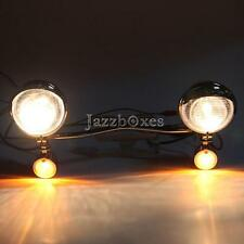 Headlight Set + Turn Signals Light For Honda Shadow Aero 1100 VT1100C3 Black