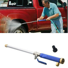 More details for water jet spray nozzle wand attachment car garden washing hose gun power tool uk