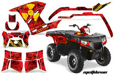 AMR Racing Polaris Sportsman800/500 Graphic Kit Quad Wrap ATV Decal 11-15 MD Y R