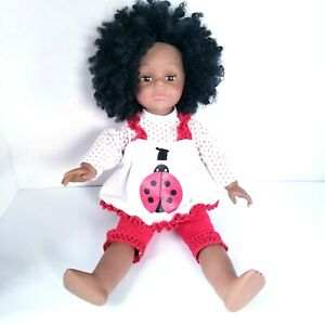 Madame Alexander Doll African American Lady Bug Outfit Red Clothes 2007 18 Inch