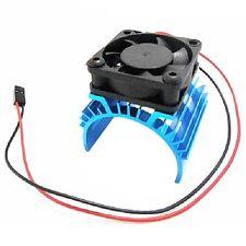 Aluminum Heatsink & Cooling Fan for 1:10 HSP RC Car 540 550 3650 Size Motor   E