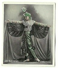 1930s German Dance Floors Of The World Tobacco card #086 Ida Rubinstein