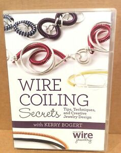 DVD Wire Coiling Secrets, Bogert, Creative Jewelry Design, 2013