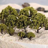 20pcs Model Trees Street Garden Architecture Landscape Scenery Layout Diorama