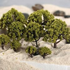20pcs Model Trees Street Garden Architecture Landscape Scenery Layout Diorama