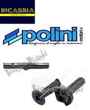 7166 - COMANDO GAS RAPIDO + TUBO POLINI VESPA 125 150 200 PX - ARCOBALENO