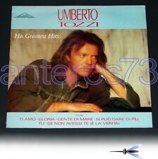 "UMBERTO TOZZI ""HIS GREATEST HITS"" RARO LP MADE IN UK"