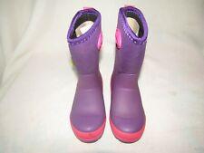 Western Chief Kids' Waterproof Insulated Neoprene Boot, Size: 9 Purple girls