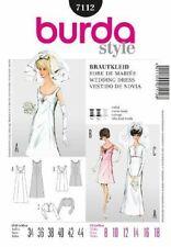 Burda Sewing Pattern 7112 Wedding or Formal Dress with Jacket
