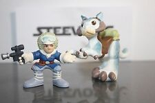 STAR WARS Galactic Heroes Taun Taun w/ Han Solo Hoth Empire Stikes Back