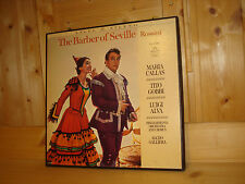 MARIA CALLAS Rossini The Barber of Seville GALLIERA ANGEL RECORDS US 3 LP BOX NM