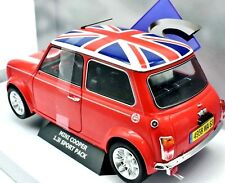 MODELLINO AUTO SCALA 1:18 MINI COOPER DIECAST CAR MODEL SOLIDO MINIATURE MODELO