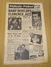 MELODY MAKER 1956 JULY 21 LIONEL HAMPTON VICTOR BORGE ALMA COGAN JAZZ JAMBOREE